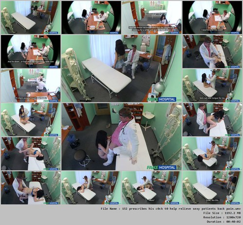 Czech patients bad back doesn039t stop doctor bending her over