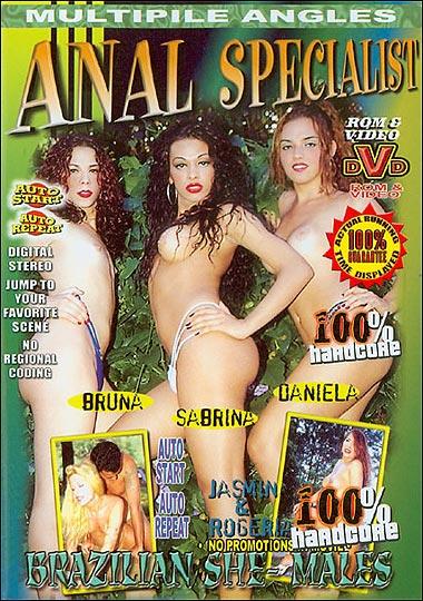 Brazilian She-Males - Anal Specialist (1999) - TS Bruna