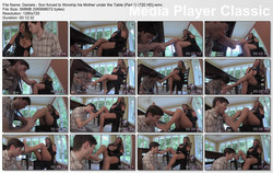 Brat Princess 2: Daniela - Son forced to Worship his Mother under the Table (Part 1) (720 HD)