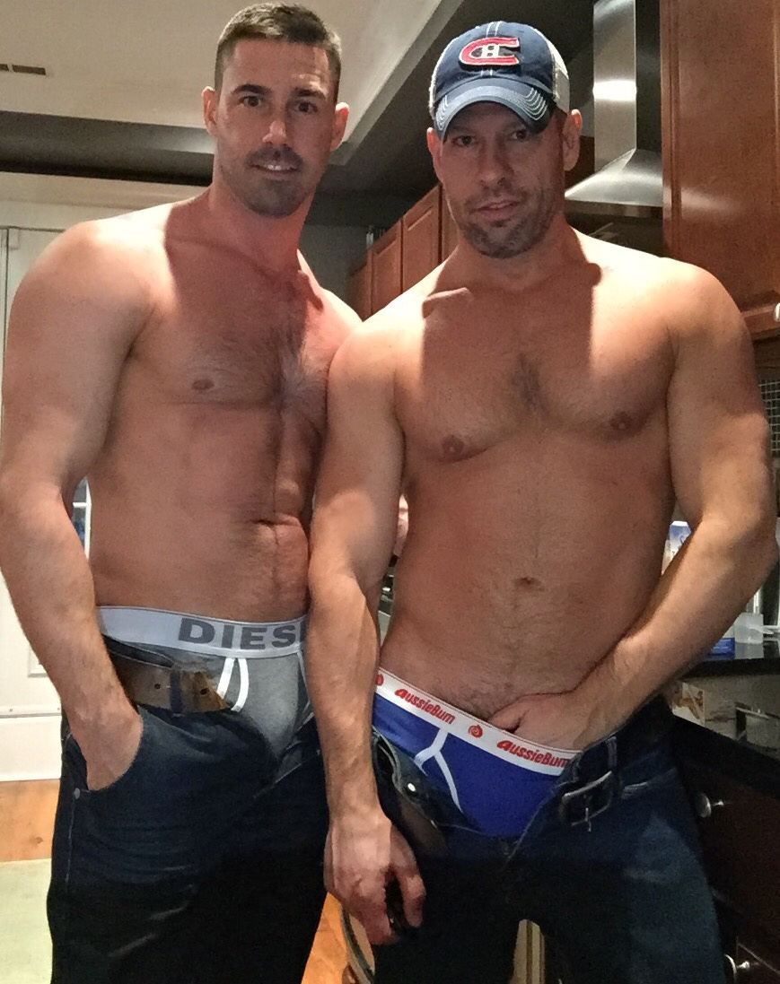 Straight men together gay first day 10