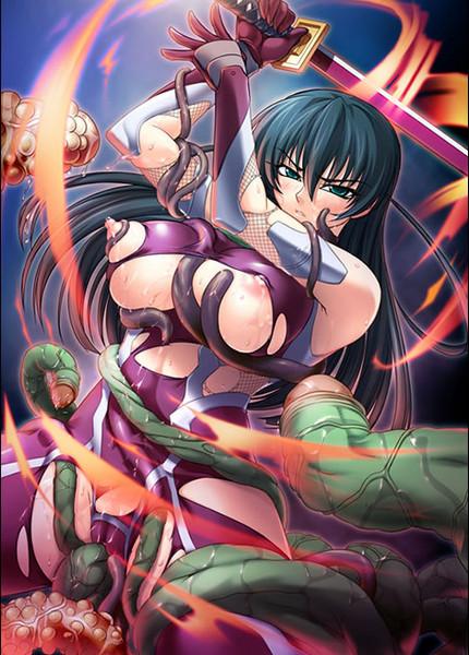 Taimanin Asagi 2 - Inbo no Tokyo Kingdom Comic