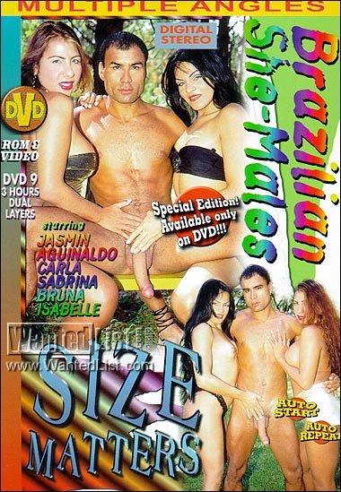 Brazilian She-Males - Size Matters (1999) - TS Bruna Requielly