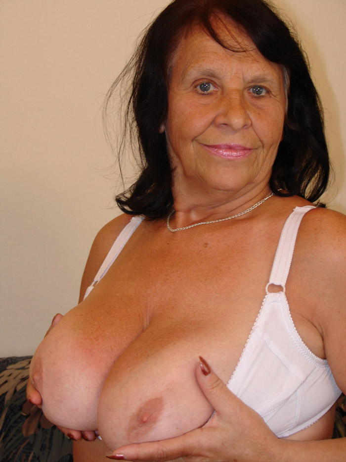 This heavy chested granny is almost 70 - Mature, MILFs
