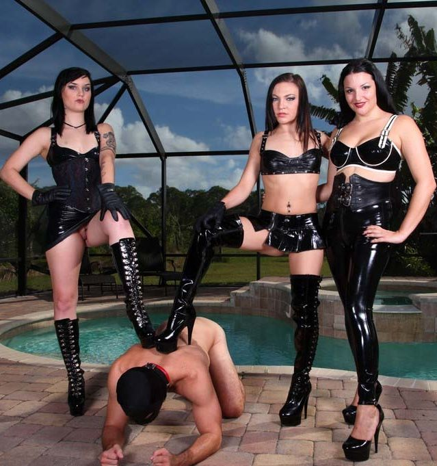 Triple Handjob Torture - Femdom