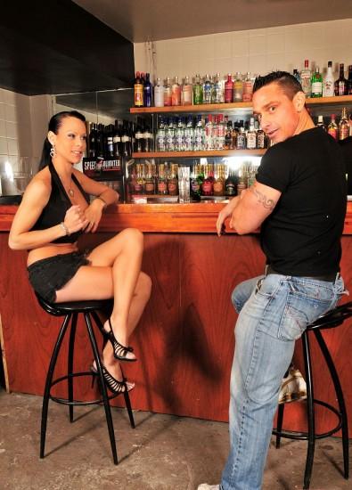 A Night Out Turns Naughty - TS Fernanda