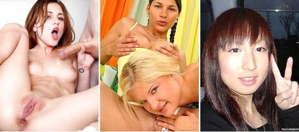 Jeunes adolescents russes avec