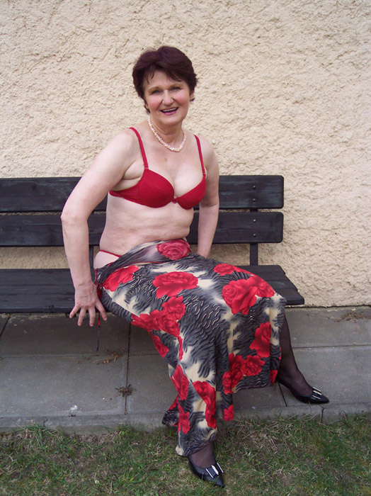 This old grandma is ready for anything! - Mature, MILFs