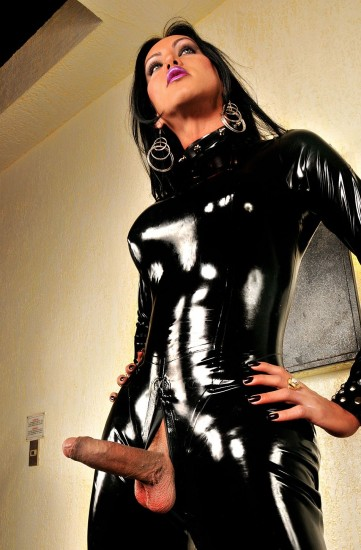 Luciana Foxx Full Body Latex - TS Luciana Foxx