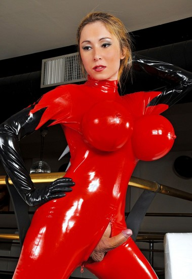 Princess of Latex Sabrina Sherman - TS Sabrina Sherman