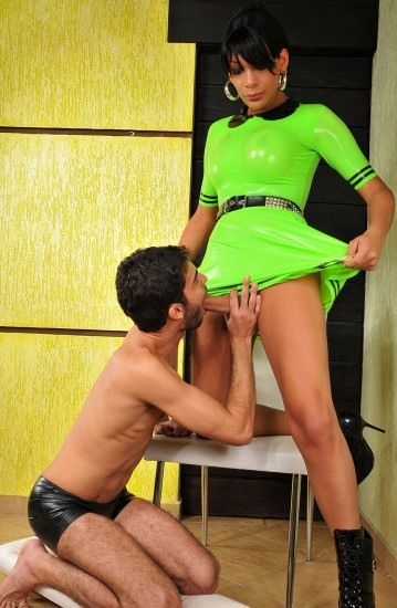 Marcela Italy and Her TS Cock Craving Lover - TS Marcela Itally