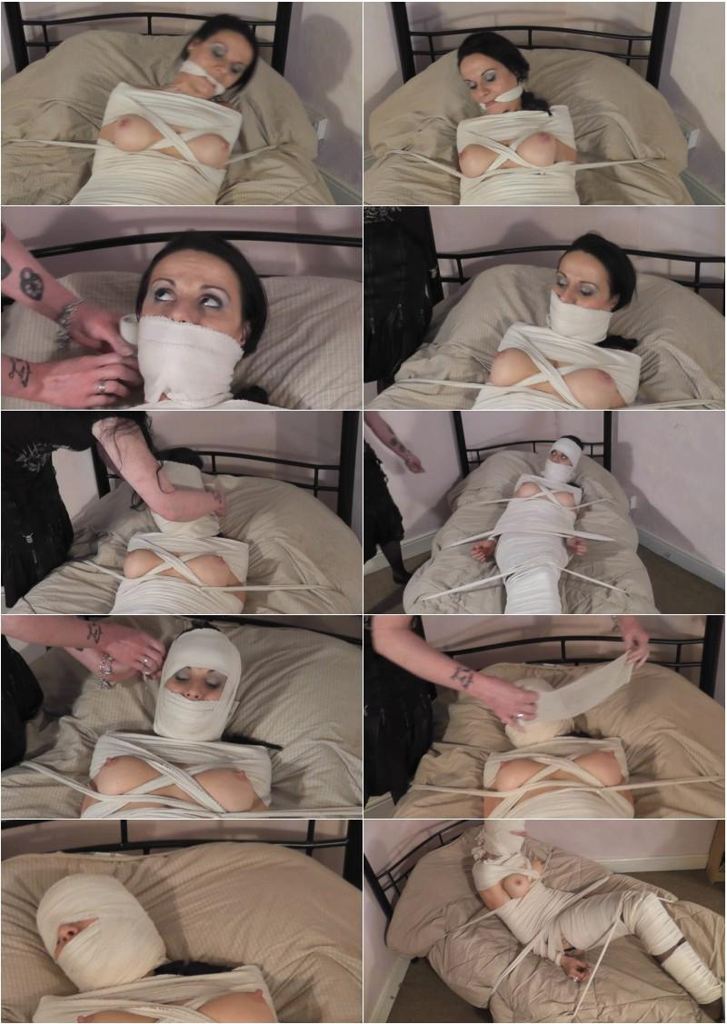 Gagged Bondage Mummified