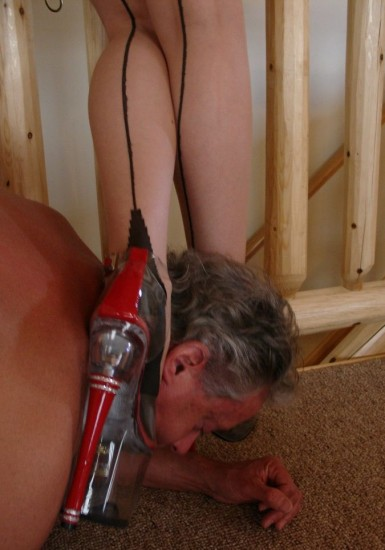 Evaluated by the Cane - Femdom