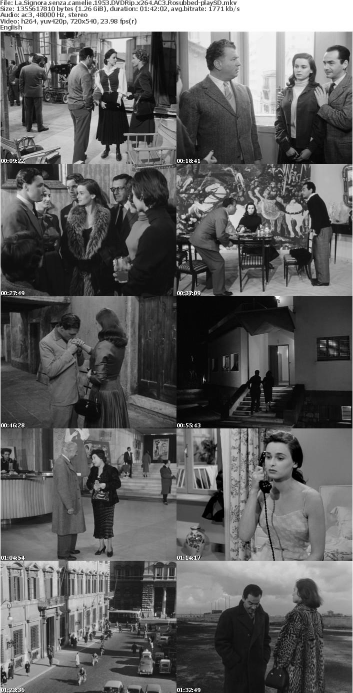 La Signora senza camelie 1953 DVDRip x264 AC3 Rosubbed-playSD [NO RAR]