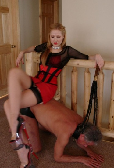 The punishment continues as Mistress O joins