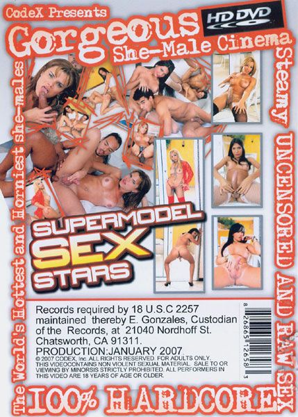 Gorgeous She-Male - Supermodel Sex Stars (2007)