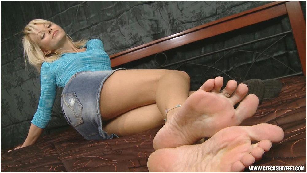 Foot fetish video tgp
