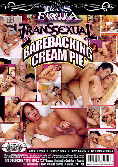 Transsexual Barebacking Cream Pie (2009)