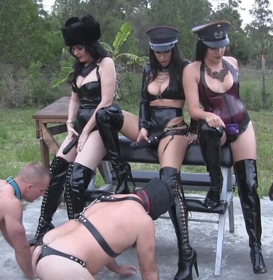 Michelle Lacy & Tangent Boot Worship