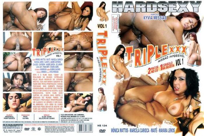 Resultado de imagem para DVD Triple XXX: Missão Impossível Vol.1