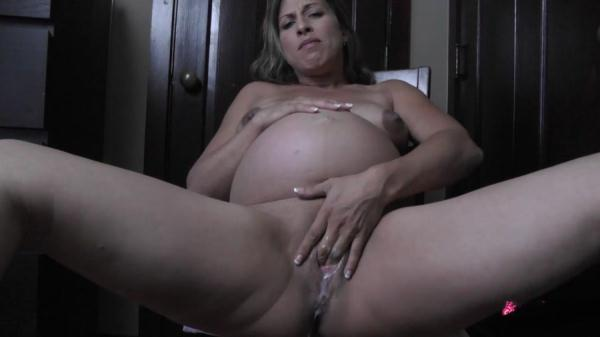 Milf, Pregnant, Solo, Masturbation, Oral, All sex