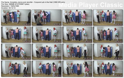 Brat Princess 2: Amadahy Jenna and Jennifer - Corporal Lab in the Hall (1080 HD)