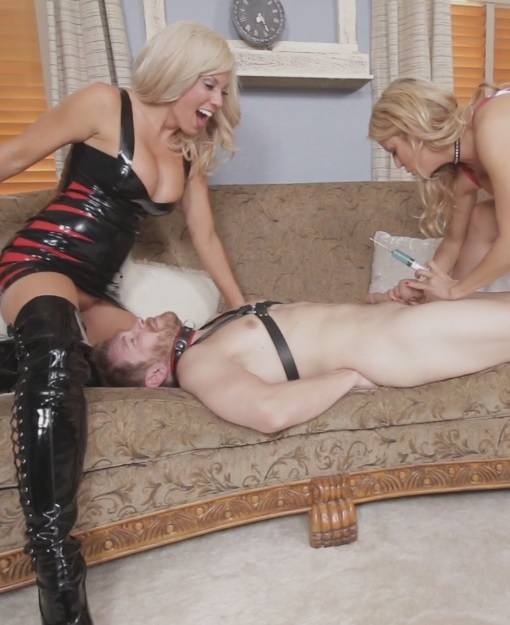 Sex Slave For Blondes Part 2: Forced to Fuck