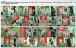 Hunt Erotic: Stomach Punching - Hard Punching By 2 Dominas And Slave Ugly Simone