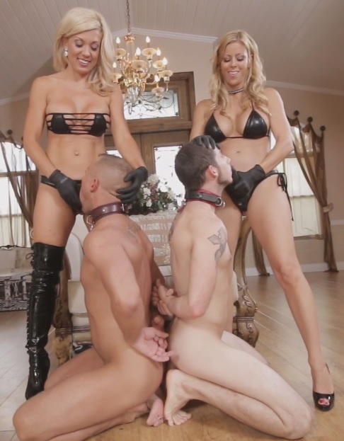Sex Slave For Blondes Part 5: Strap-on