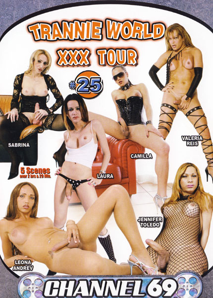Trannie World XXX Tour 25 (2010) - TS Valeria Reis