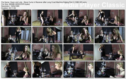 Brat Princess 2: Gwen and Lola - Slave Cums in Receiver after Long Cruel Machine Edging Part 2 (1080 HD)