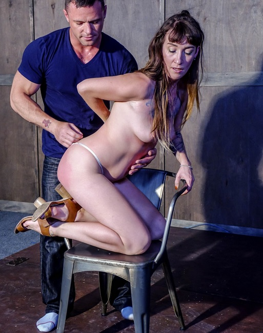 Gina gets spanked