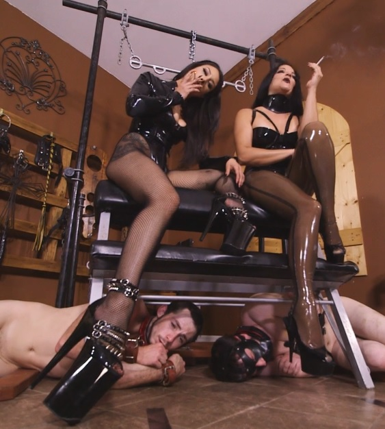 Michelle and Tangent's Auction Slave 3: Whipped