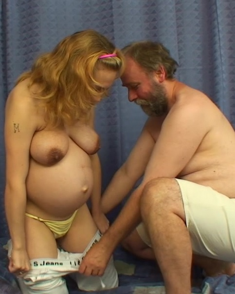 Pregnant Stepdaughter Gets Fucked By Her Stepfather