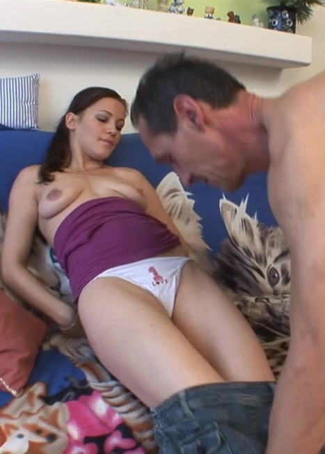 My Stepdad's Big Cock Inside My Tight Wet Pussy