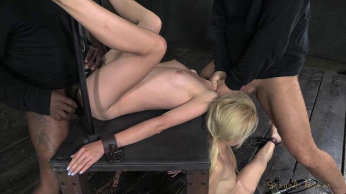 Erotic female bondage and fucking