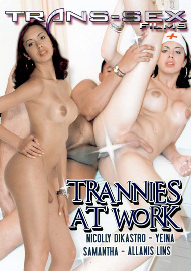 Trannies At Work (2009) - TS Nicolly Dikastro
