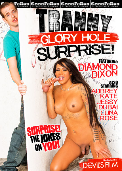 Tranny Glory Hole Surprise (2015) - TS Luna Rose