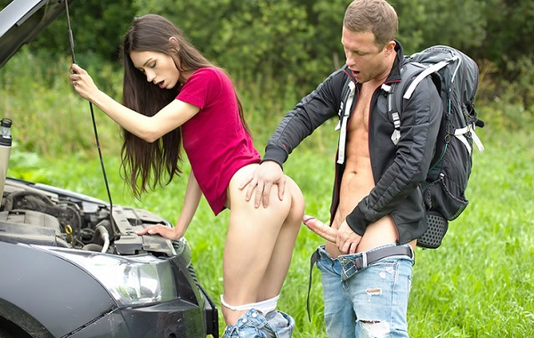 Hot Teen Mädchen wird gefickt