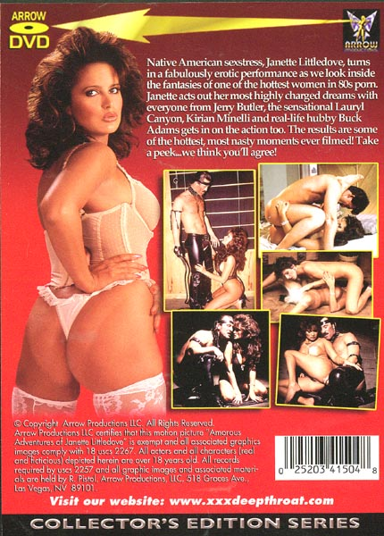 Janette littledove buck adams jerry butler in classic sex - 4 3