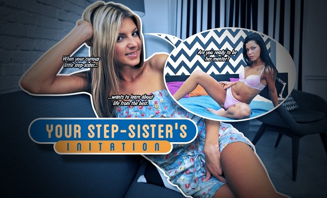 Your Step-Sister's Initiation (lifeselector,SuslikX) [August, 2016]