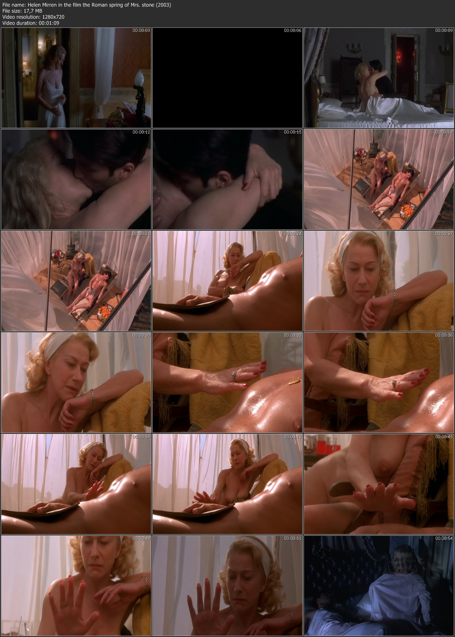 helen mirren in the film the roman spring of mrs. stone (2003) (image 2),