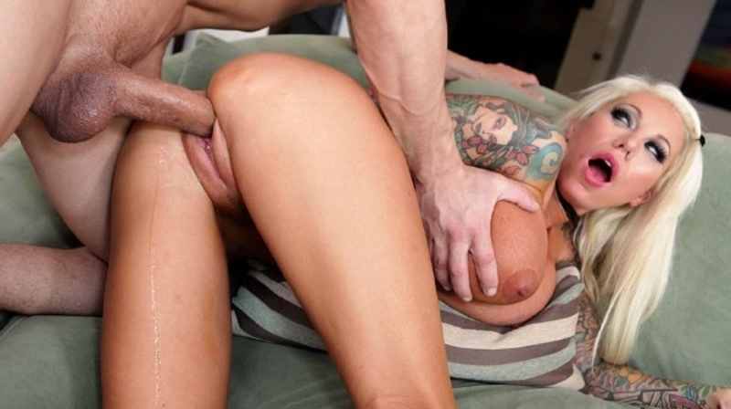 Lolly Ink – Blonde Bombshell Lolly Ink Fucks Hard