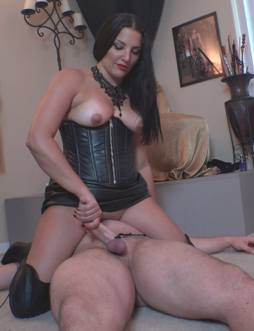 Michelle's Pleasure Slave 5: Slave Dildo