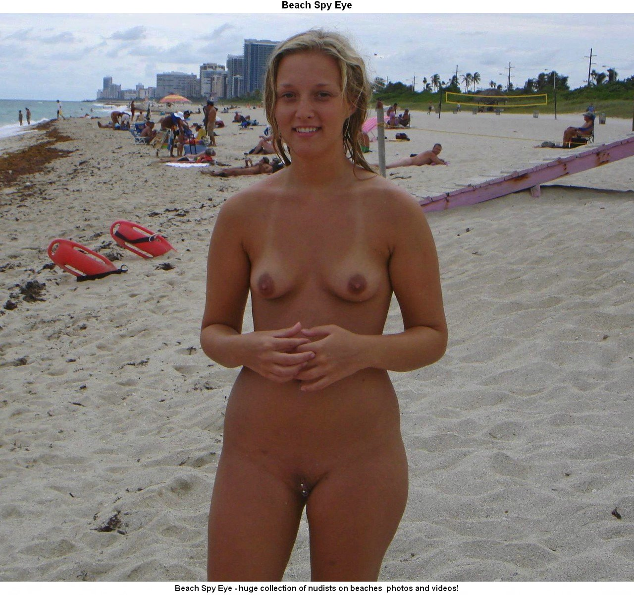 naked in Cuban beach girls