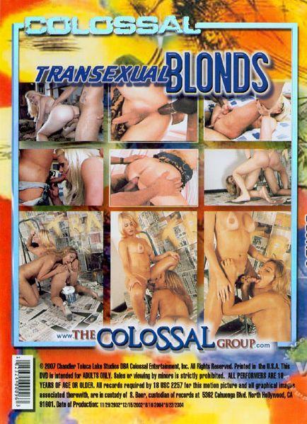 Transexual Blonds (2004) - TS Katia Flavia