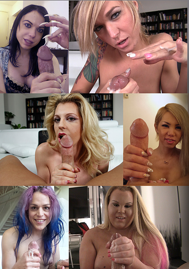 Tranny Handies (2015) - TS Tyra Scott, Kimber James