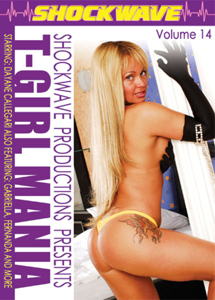 T-Girl Mania 14 (2007) - TS Dayane Callegari