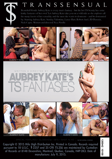 Aubrey Kate's TS Fantasies (2015) - TS Sunday Valentina