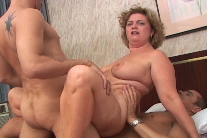 This chubby MILF is always ready for