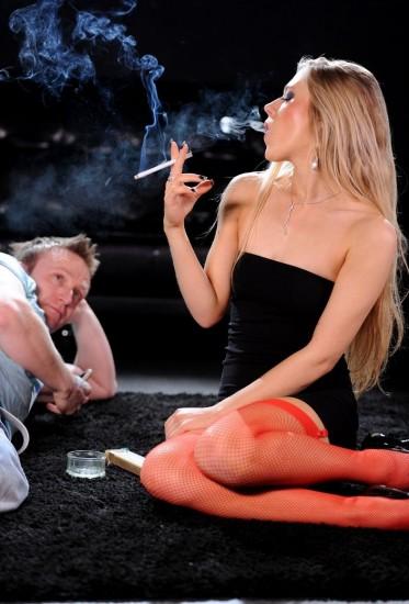 Michelle Moist hot smokey sex